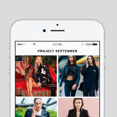Project September Is Your Next Favorite Fashion App