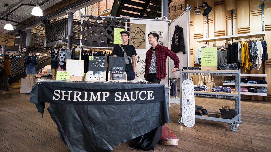 Shrimp Sauce: A Launch Party