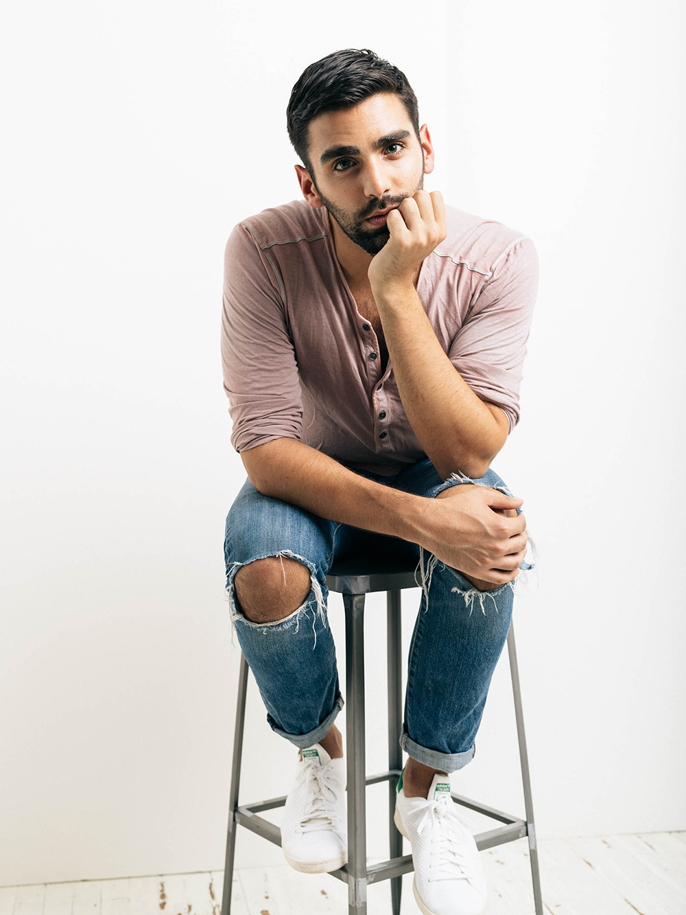 Phillip Picardi represents Fashion's Prince Charming