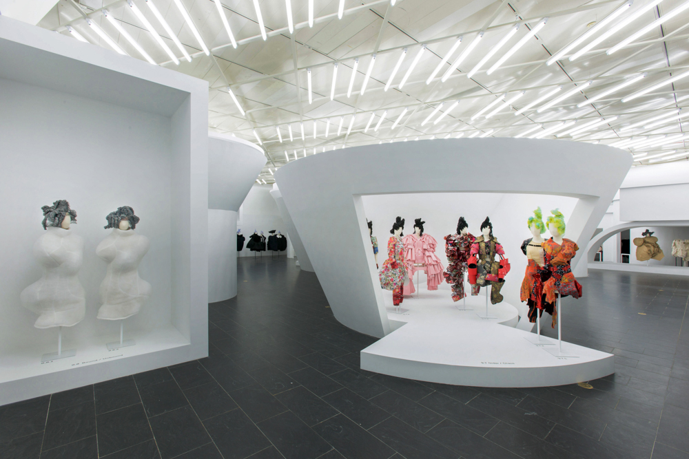 A view of the Rei Kawakubo / Comme des Garçons: Art of the In-Between.