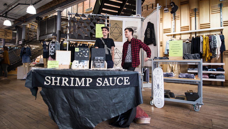 Shrimp Sauce: A Launch Party