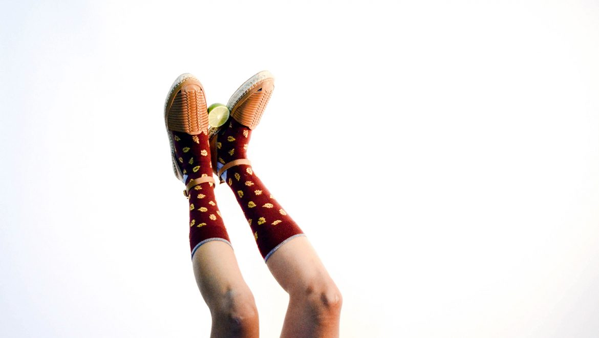 Statement Socks Are the New Essential