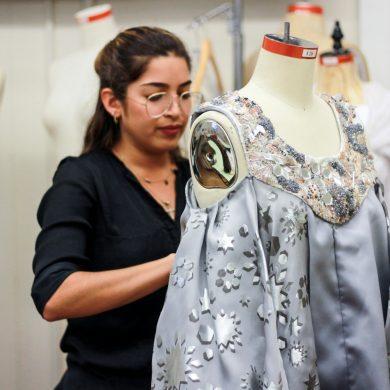 India's Textiles Influences Estefania Alvarez' Senior Collection