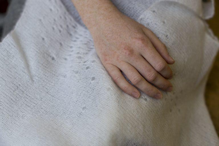 Esther Boller hands
